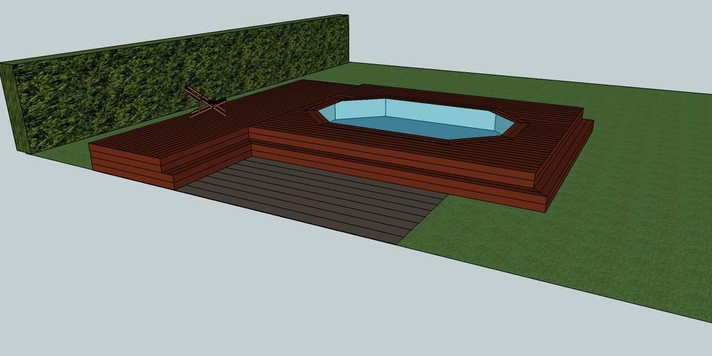 mini piscine en bois les formes. Black Bedroom Furniture Sets. Home Design Ideas
