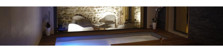Mini piscine en bois spa for Reglementation spa exterieur